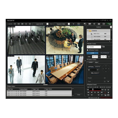 Sony IMZ-NS109 CCTV software