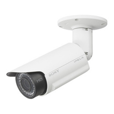 Sony SNC-CH160 network security camera with IR illuminators