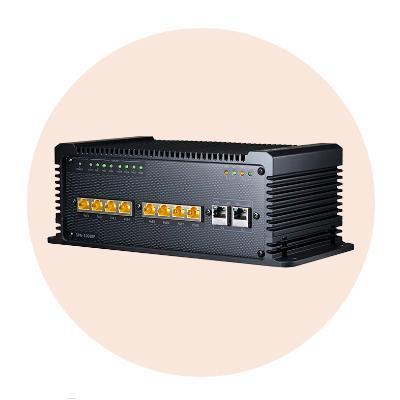 Hanwha Techwin America SPN-10080P Mobile 8-Port PoE Network Switch
