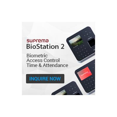 Suprema BioStation2 IP Fingerprint Terminal