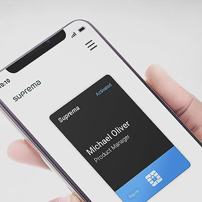 Suprema Mobile Card management module