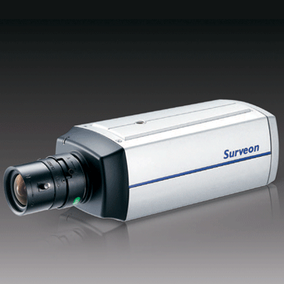 Surveon CAM2200 IP camera with Power over Ethernet (PoE)