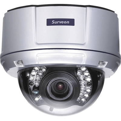 Surveon introduces the 3 megapixel day & night WDR fixed dome network camera for outdoor applications