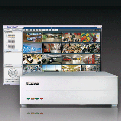 Surveon NVR0500-10B16C network video recorder with real time video analytics solutions