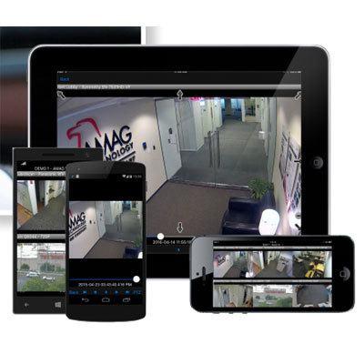 AMAG Symmetry TouchView mobile application