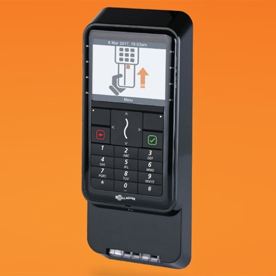 Gallagher T21 PIV contact card plus PIN reader