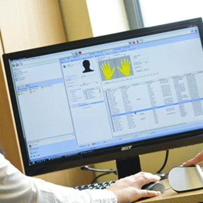 TDSi Desktop USB Fingerprint Enrolment Reader
