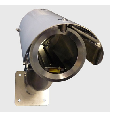 Tecnovideo 101WIR70 stainless steel CCTV camera housing with IP67 protection