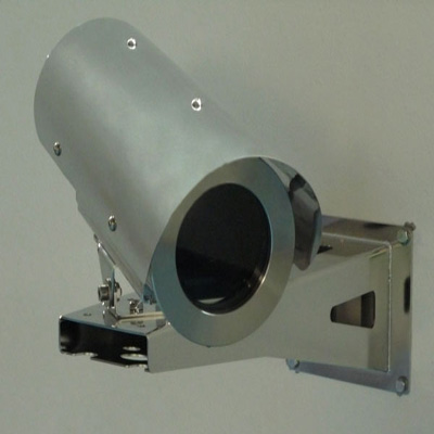Tecnovideo 129SH CCTV camera housing with sunshield and heater