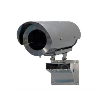 Tecnovideo 129SHIR70 stainless steel CCTV camera housing with IP67 protection