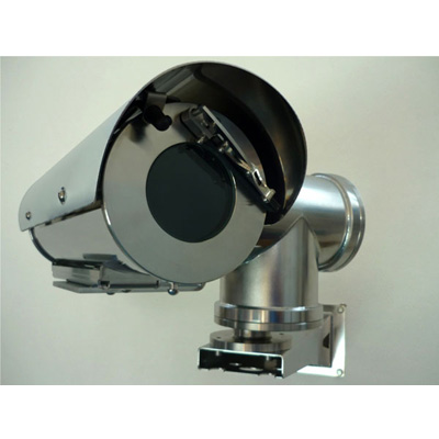 Tecnovideo 129WW stainless steel CCTV camera housing with IP67 protection
