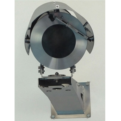 Tecnovideo 168WW stainless steel CCTV camera housing with IP67 protection for corrosive environments