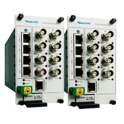 Teleste CEV8B eight channel video modem