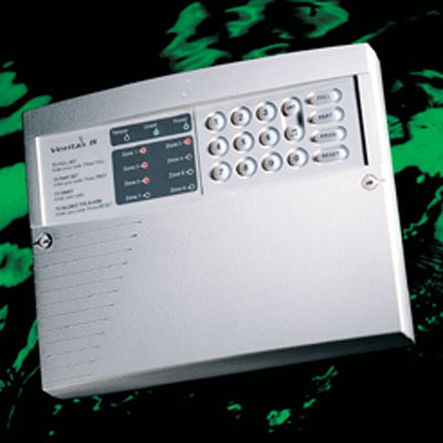 Texecom Veritas 8 standalone control panel with 2 programmable part set suites