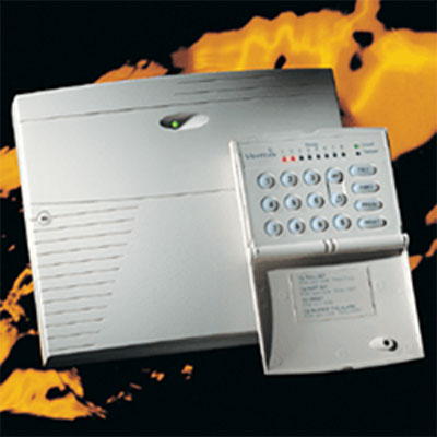 Texecom Veritas R8 Plus control panel with remote keypad along with 4 programmable part set suites