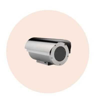 Hanwha Techwin America TNO-6070EP-Z Explosion Proof Fixed Camera