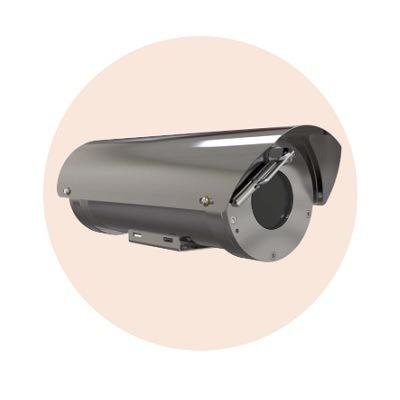 Hanwha Techwin America TNO-6320E2WF-Z Explosion Proof Zoom Camera