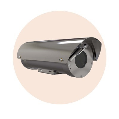 Hanwha Techwin America TNO-6320E1W-Z Explosion Proof Zoom Camera