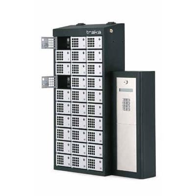 Traka Modular Lockers for asset management by RFID detection