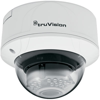 TruVision TVD-M2210V-2-N 2MP colour/monochrome indoor vandal IP dome camera
