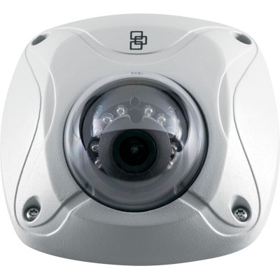 TruVision TVW-1102 3MP true day/night outdoor IR wedge IP dome camera