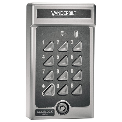Vanderbilt (formerly known as Siemens Security Products) K44 Duo programmable codelock for one or two doors
