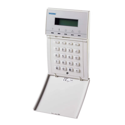 Vanderbilt (formerly known as Siemens Security Products) SAK41 - LCD Keypad with flap, 2x16 characters