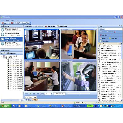 Verint Nextiva Financial Vid-Center CCTV surveillance software