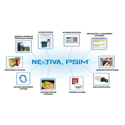 Nextiva's® integrated PSIM™ technology suite for increased situational awareness