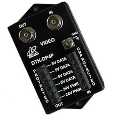 Vicon DTK-DP4P PTZ zoom camera surge protection