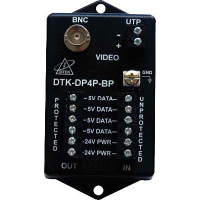 Vicon DTK-DP4PBP PTZ camera surge protection