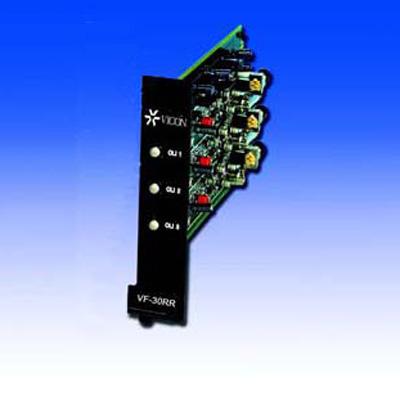 Vicon VF-30RR 3-channel video receiver