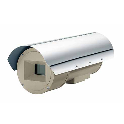 Videotec EXHD explosion proof CCTV camera housing with IP66 protection