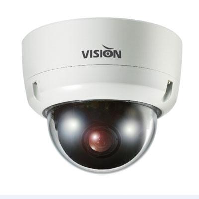 Visionhitech VDA100EHi vandal-resistant IR dome camera with Effio-E