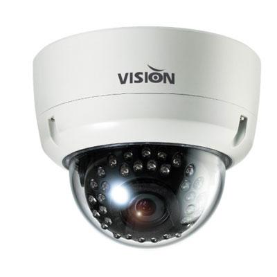 Visionhitech VDA100EHi-IR vandal resistant IR dome IP camera