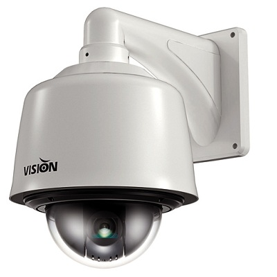 """Visionhitech VPD370WD-O 1/4"""", WDR outdoor dome camera"""