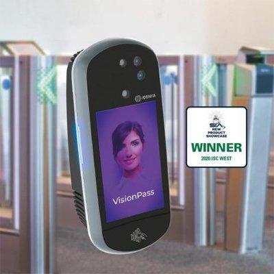 IDEMIA VisionPass facial recognition access control device