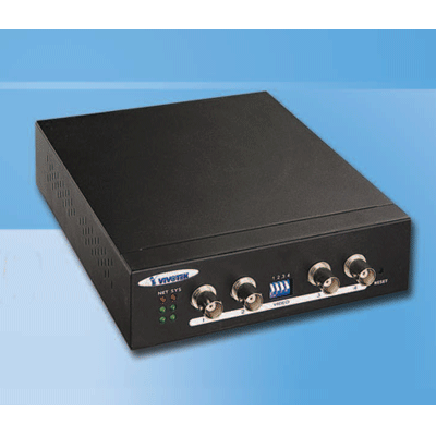 Vivotek VS2403 4 channel video server with intelligent motion detection