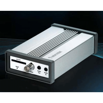Vivotek VS8102 1 channel video server with motion detection and tamper detection
