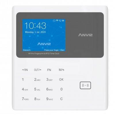 Anviz W1C Pro RFID card time attendance terminal