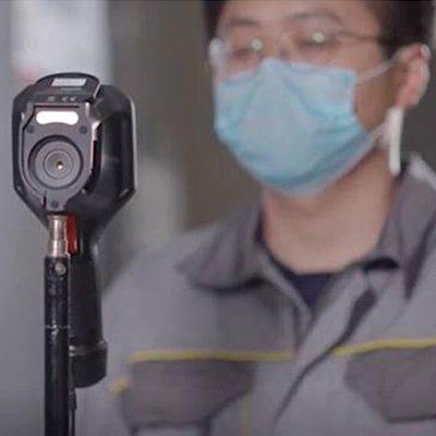 Hikvision Temperature Screening Solution IP camera
