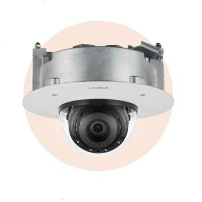 Hanwha Techwin XND-9082RF 4K Flush Mount IR Network Dome Camera