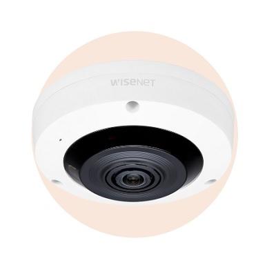 Hanwha Techwin America XNF-8010RW 6MP Sensor Fisheye Camera