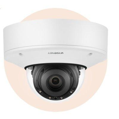 Hanwha Techwin XNV-9082R 4K Vandal-Resistant IR Outdoor Network Dome Camera