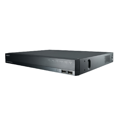 Hanwha Techwin America XRN-810S 8CH Network Video Recorder With PoE Switch