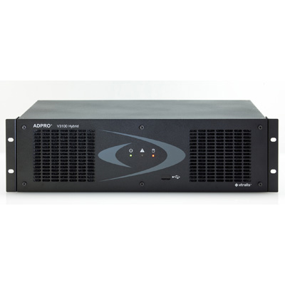 Xtralis presents the ADPRO V3100 Hybrid - a new generation of highly reliable network video, audio transmission and recording technology