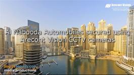 Arecont Vision's Panoramic Day/Night CCTV cameras secures Al Nabooda Automobiles, Dubai