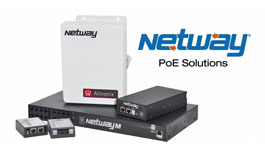 Altronix NetWay™ Power over Ethernet Midspan solutions