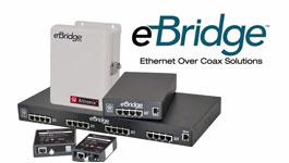 Altronix eBridge™ Ethernet over Coax Adapters