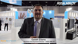 ASSA ABLOY Aperio electronic access control systems at IFSEC 2015